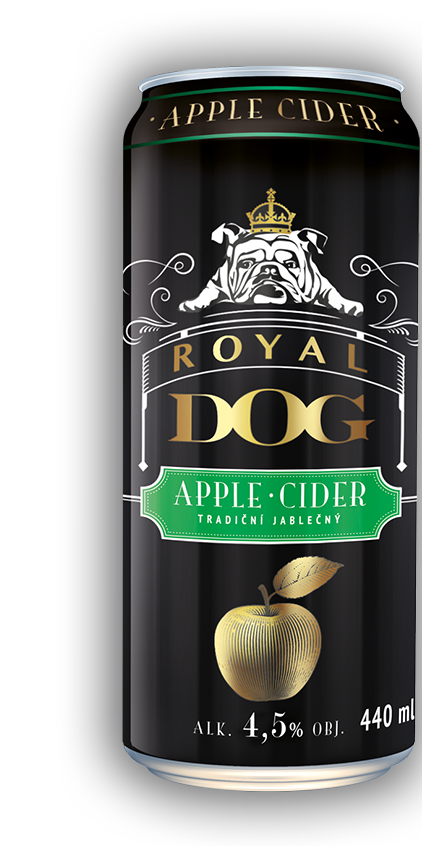 plechovka Royal Dog Cider